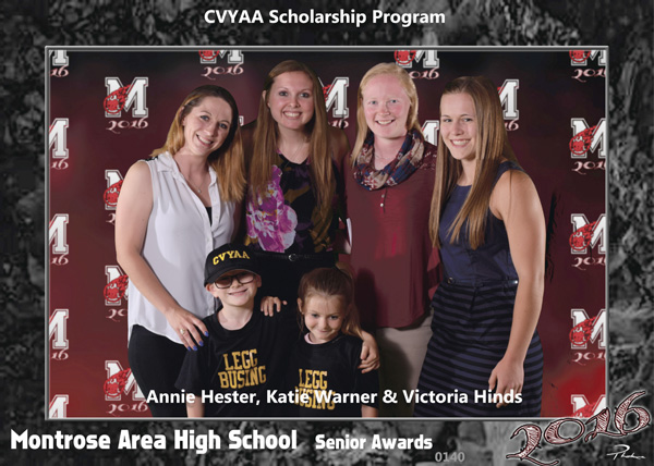 CVYAA award winners 2016